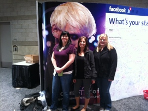 """Posing Up at Facebook Wall"""